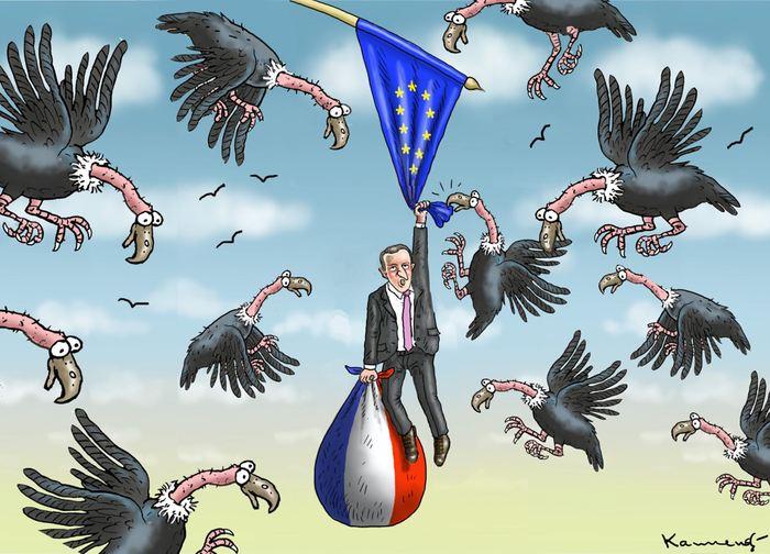 Macron veut interner les chomeurs dans des camps de travaux forcés