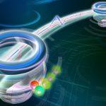 Les chercheurs rapportent la réussite d'une transmission de photons intriqués entre la terre et l'espace sur 1200 km. Cela ouvre la voie aux réseaux de communication quantique.