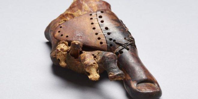 Une prothèse égyptienne datant de 3 000 ans