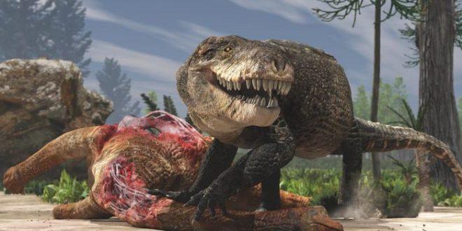 """""""Razana"""", un crocodile géant avec des dents de T. Rex à Madagascar"""