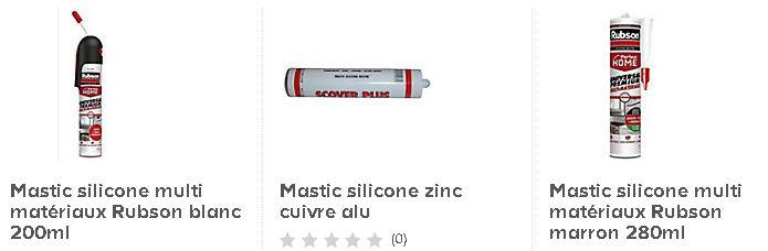 Mastic silicone
