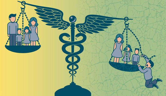 Les chercheurs rapportent que le programme d'austérité du gouvernement actuel inverse les tendances positives sur les inégalités de santé au Royaume-Uni.