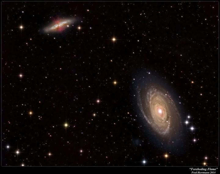 Le corps humain serait à 50% constitué d'atomes venus de galaxies lointaines