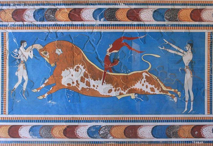 Une analyse d'ADN a révélé que les anciens Minoens et Mycéniens sont génétiquement similaires et qu'ils descendent des premiers agriculteurs néolithiques.