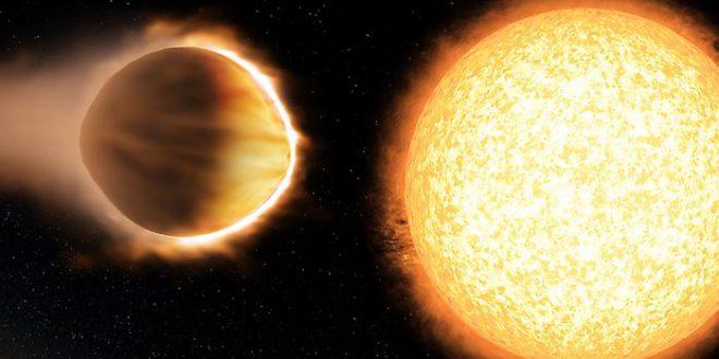 WASP-121b, une exoplanète avec une atmosphère de 2 500 degrés Celsius