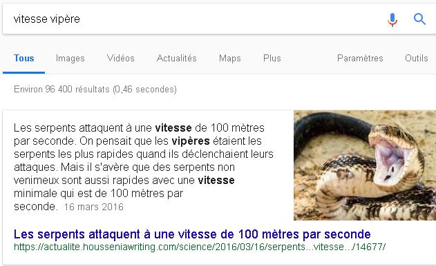 Comment apparaitre dans les Featured Snippet de Google ?