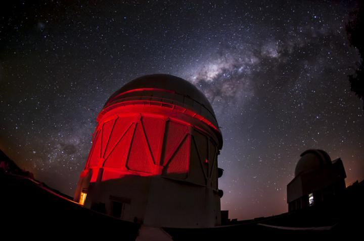 Le dome du Blanco Telescope au Chili - Crédit : Reidar Hahn/Fermi National Accelerator Laboratory