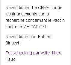 Le Fact Checking de Google avec ClaimReview
