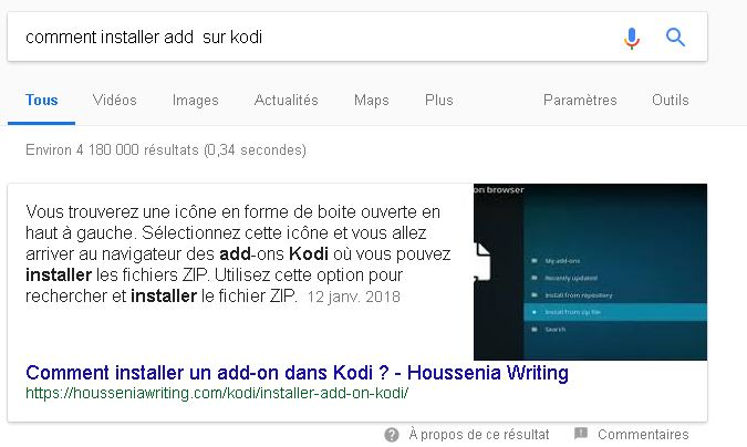 Comment obtenir un featured snippet sur Google