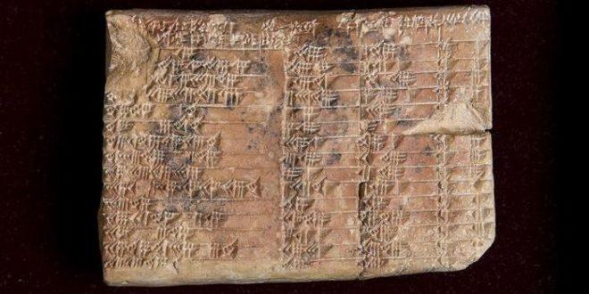 Le mystère mathématique d'une ancienne tablette babylonienne