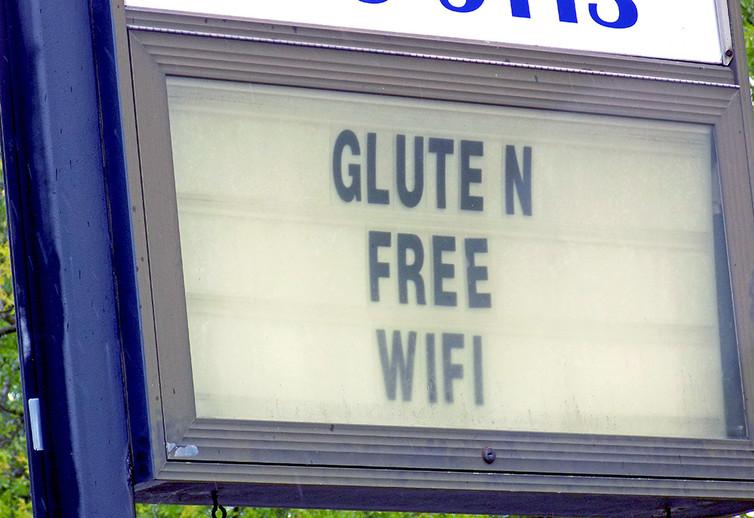 Une connexion Wifi sans gluten - Crédit : Mr. Gray