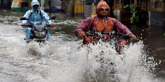 Les cyclones, les inondations et l'impact sur la santé
