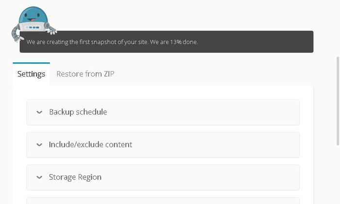 Configuration de sauvegarde de votre site WordPress avec ManageWP