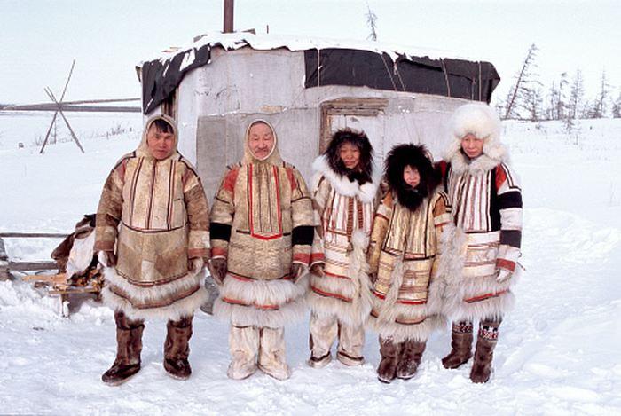 Les Nganasan, une population autochtone en Sibérie - Crédit : reindeerherding.org