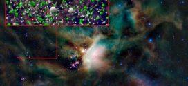 Découverte de Freon-40 dans l'espace interstellaire