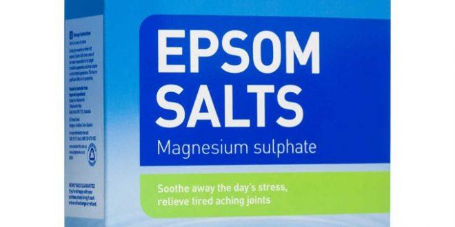 Un homme subit de graves dommages au foie à cause des sels d'Epsom