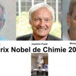 Le Prix Nobel de Chimie 2017 a été décerné à Jacques Dubochet, Joachim Frank et Richard Henderson pour leurs travaux sur la Cryo-microscopie électronique qui est une technique de microscopie qui utilise le froid pour pouvoir observer des états macromoléculaires dans leurs états fondamentaux.