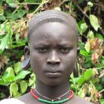 Une femme de l'ethnie Ju/'hoansi - Crédit : Alessia Ranciaro