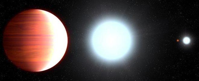 Kepler-13Ab, une exoplanète où il neige de la crème solaire