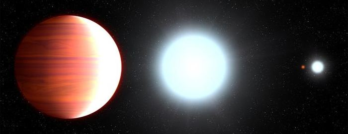 Illustration d'artiste de l'exoplanète Kepler-13Ab - Crédit : NASA, ESA, and G. Bacon (STScI)