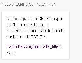 Utilisez la balise ClaimReview de Schema.org pour avoir le label Fact-Check par Google