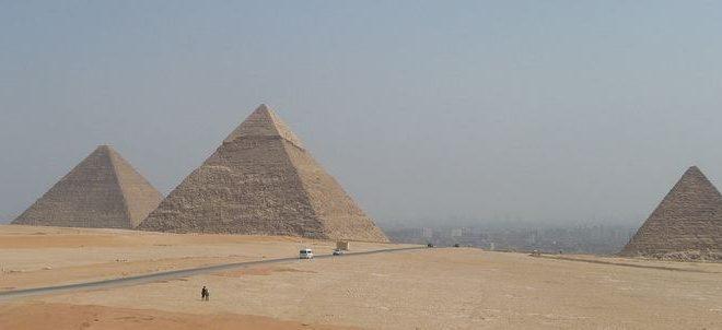 Découverte d'un grand espace vide mystérieux dans la Pyramide de Khéops