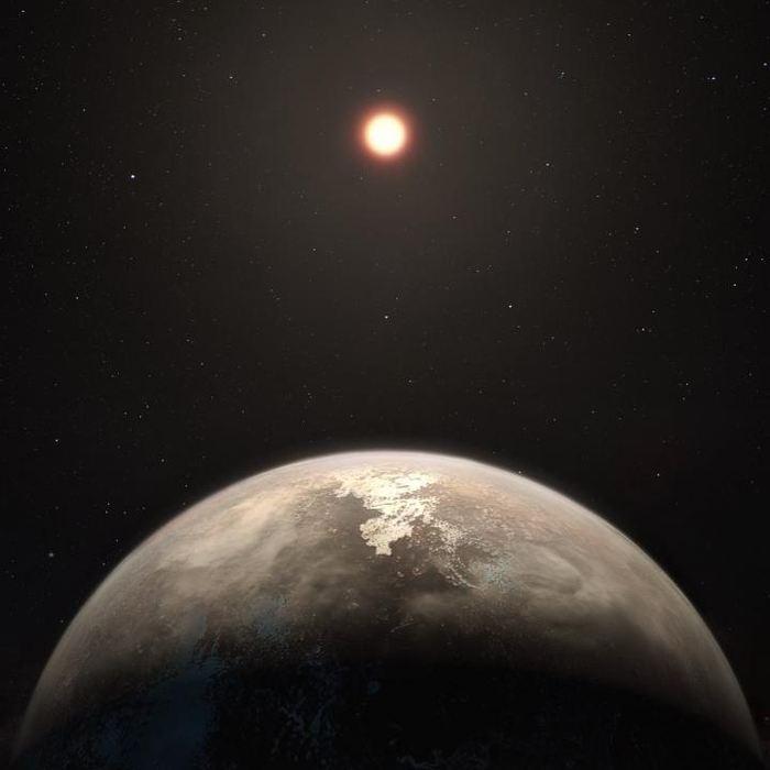 Les chercheurs rapportent la découverte de Ross 128 b, une exoplanète de la taille et d'une température proche de la Terre à environ 11 années-lumières. Malgré une température de surface allant de -60 à 20 degrés Celsius, on ignore si cette exoplanète se trouve dans la zone habitable pour envisager des possibilités de forme de vie.