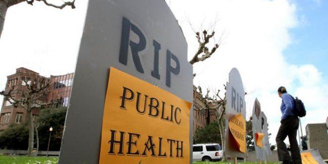 120 000 morts associés aux coupes de dépenses sociales et de santé en Angleterre