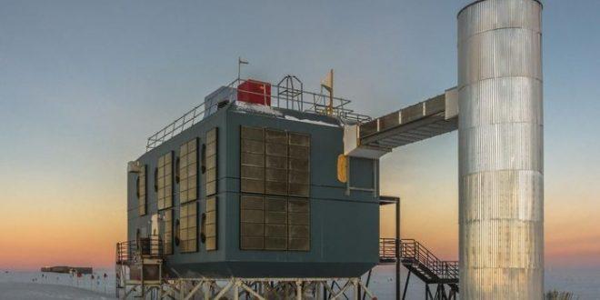 La Terre stoppe certains neutrinos à haute énergie