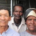 Des individus sud-africains qui illustrent la variabilité considérable de la couleur de la peau dans les populations Khomani et Nama - Crédit : Brenna Henn