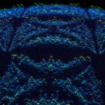 Le papillon de Hofstadter qui est apparu dans cette simulation quantique - Crédit : Visual Science/Google