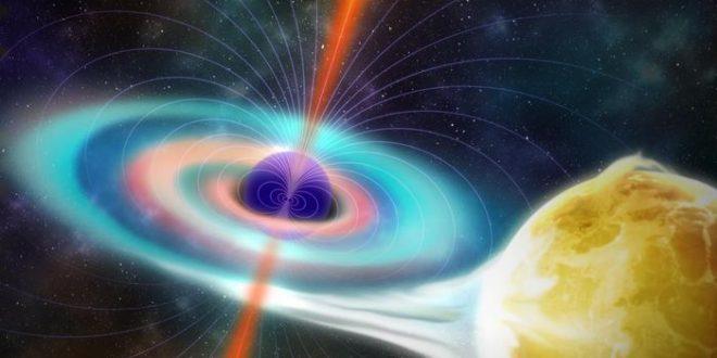 Le champ magnétique des trous noirs est plus faible que prévu