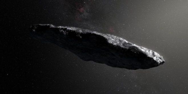 Oumuamua, un astéroïde provenant d'un autre système solaire
