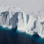 La façade de la plateforme de glace Getz - Jeremy Harbeck/NASA