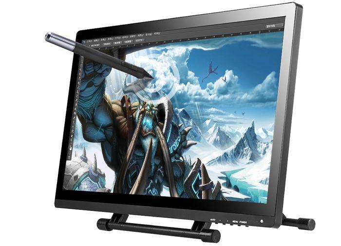 Avec sa zone de travail de 47 x 26 centimètres, la tablette graphique Ugee UG2150 propose une zone de travail monstrueuse sur un superbe écran de 21,5 pouces.