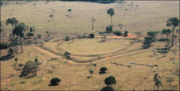 Une vue aérienne du site Jacó Sá - Crédit : University of Exeter