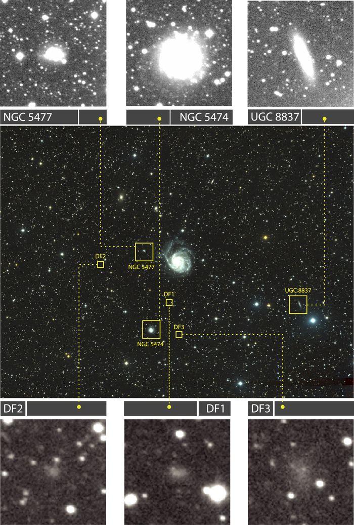 Les chercheurs rapportent la découverte d'une galaxie sans quasiment de matière noire. De plus, elle a la taille de la Voie lactée, mais ne contient qu'une fraction d'étoiles. Elle n'a pas non plus de bras ou de trou noir supermassif dans son centre.