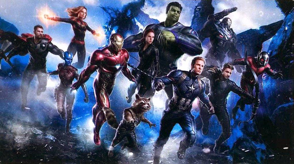 Le concept art du professeur Hulk dans Avengers 4
