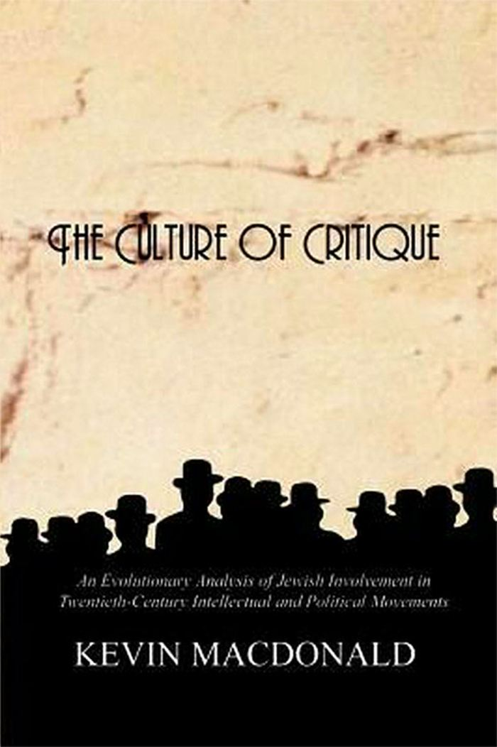 Le livre The Culture of Critic par Kevin Macdonald