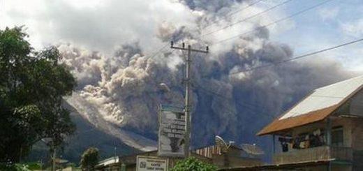 L'activité pyroclastique au Mont Sinabung en Indonésie, juin 2016