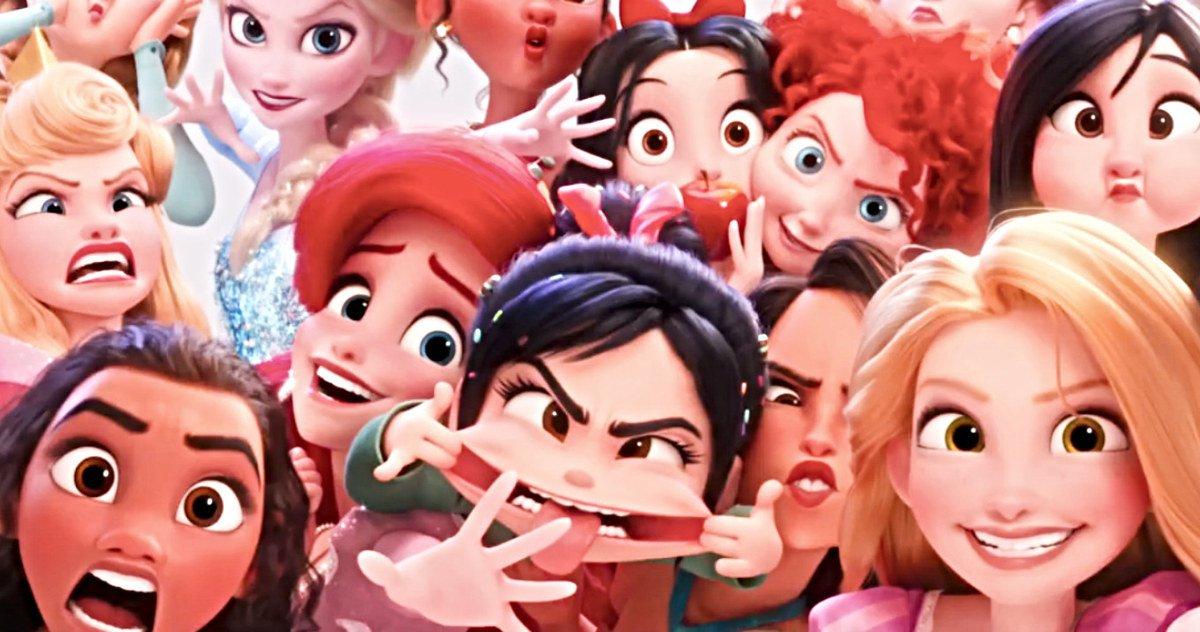 Wreck It Ralph 2 Une Avant Première Avec Les Princesses Disney Et