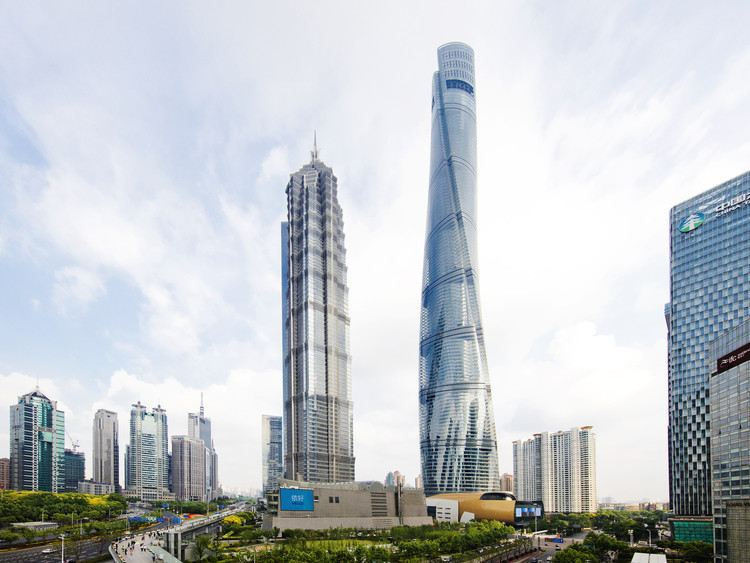La Shangai Tower, d'une hauteur de 632 mètres