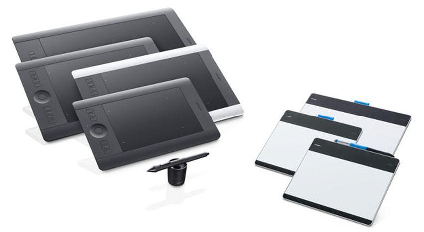 Les différentes tailles d'une tablette graphique