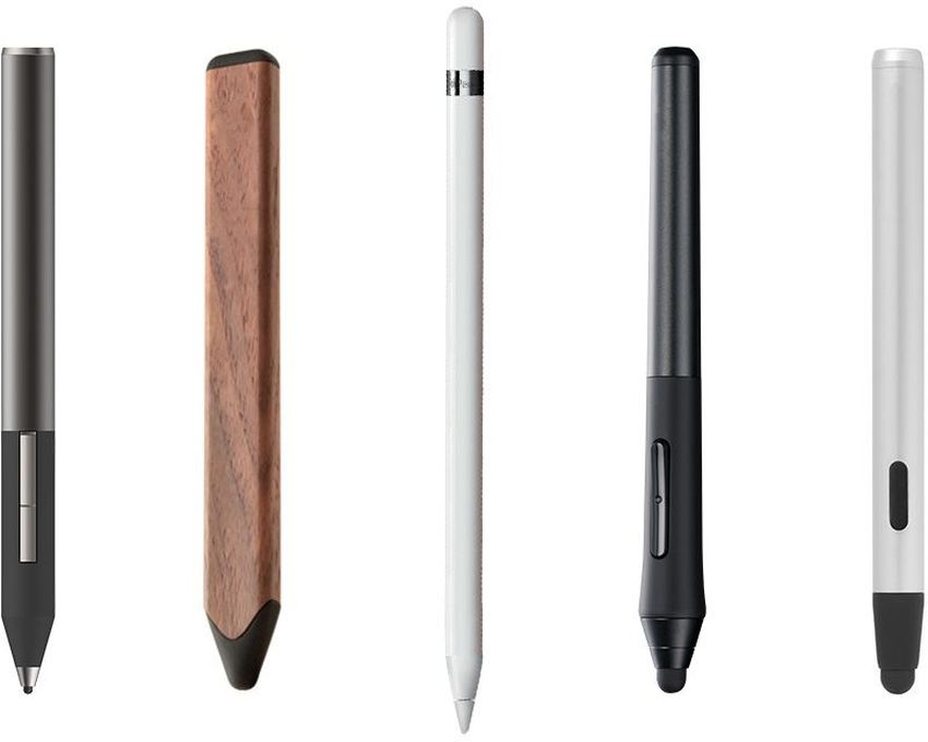 Une tablette graphique peut avoir un stylet à piles, rechargeable ou utilise une fréquence électromagnétique.
