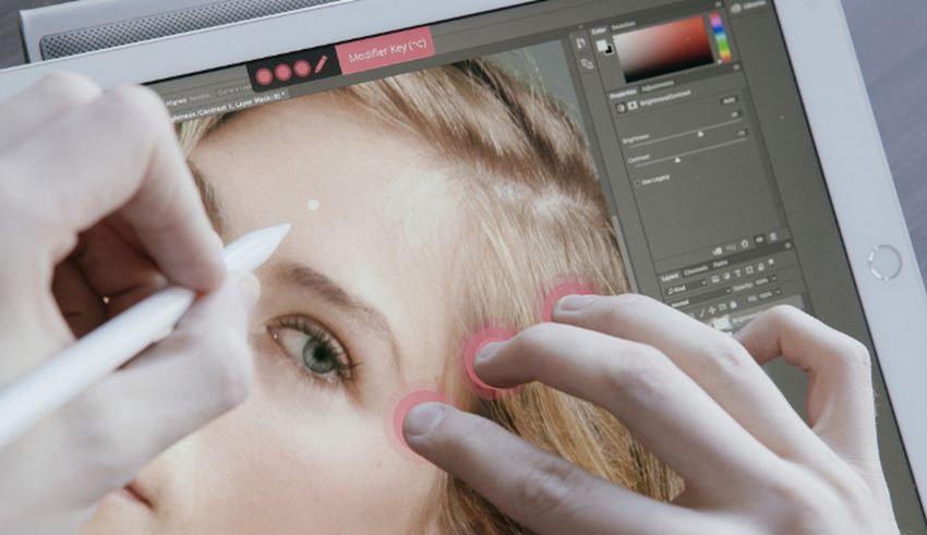 L'écran Multi-Touch est une fonction avancée d'une tablette graphique, destinée aux professionnels