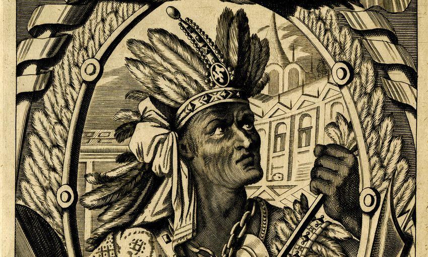 Le Sapa Inka Atahualpa, le dernier empereur de l'Empire Inca - Crédit : Wikimédia