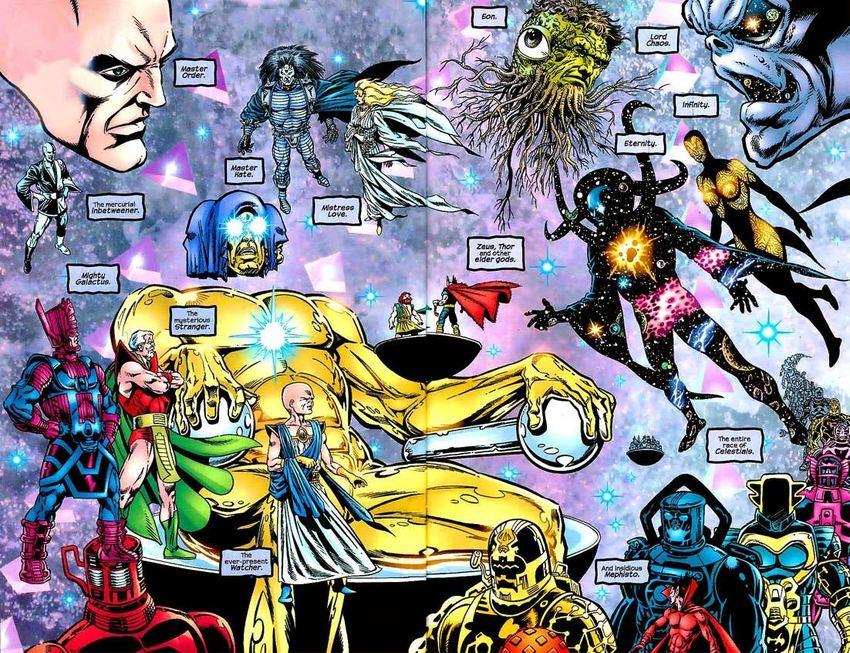 Les Célestes (Celestials) sont encore une légende dans le MCU, mais ils semblent essentiels dans les futurs plans de Marvel. Qui sont les Célestes et comment sont-ils connectés aux Eternels ?