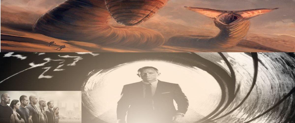 2020 sera une année de grosses sorties avec Dune qui sort le 20 novembre 2020. James Bond 25 débarque le 8 avril 2020 suivi par Fast & Furious 9, le 22 mai 2020.