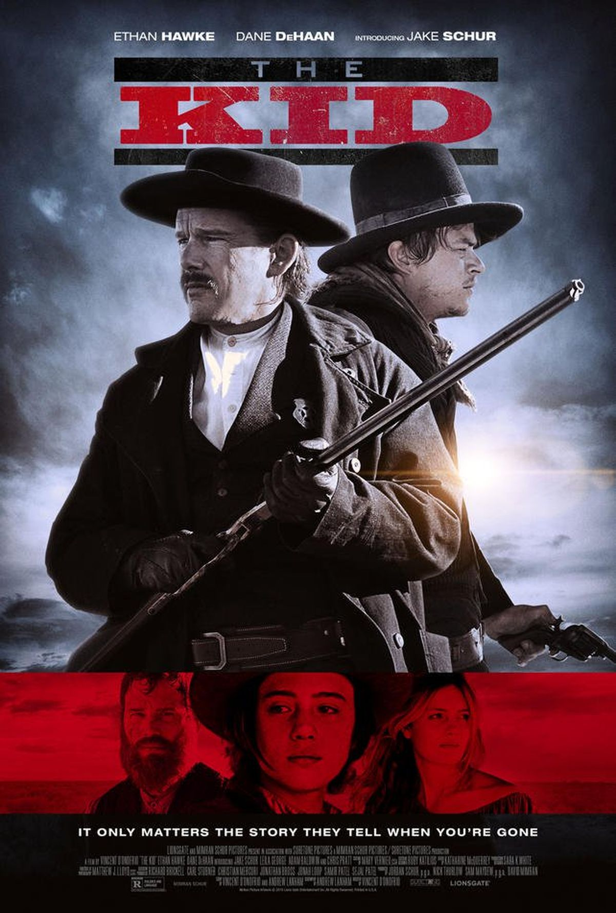 La bande-annonce du film The Kid nous montre la version de Billy the Kid avec Vincent D'Onofrio aux manettes. Ethan Hawke et Chris Pratt font partie du casting.