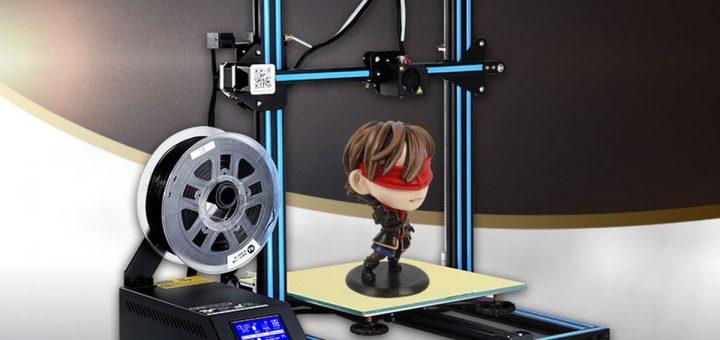 Avec la Creality3D CR - 10S 3D, vous avez une imprimante 3D polyvalente, à un prix correct, en étant entièrement DIY.